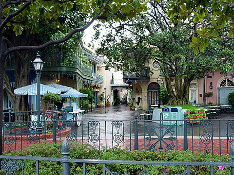 New Orleans Square (empty)