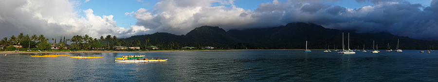 Hanalei Bay Twilight