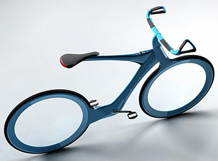 spoke-less bicycle